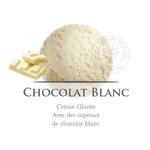 Glace Chocolat Blanc Antolin